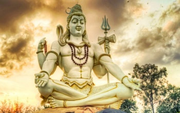 Shiva was a man on earth destroying evil